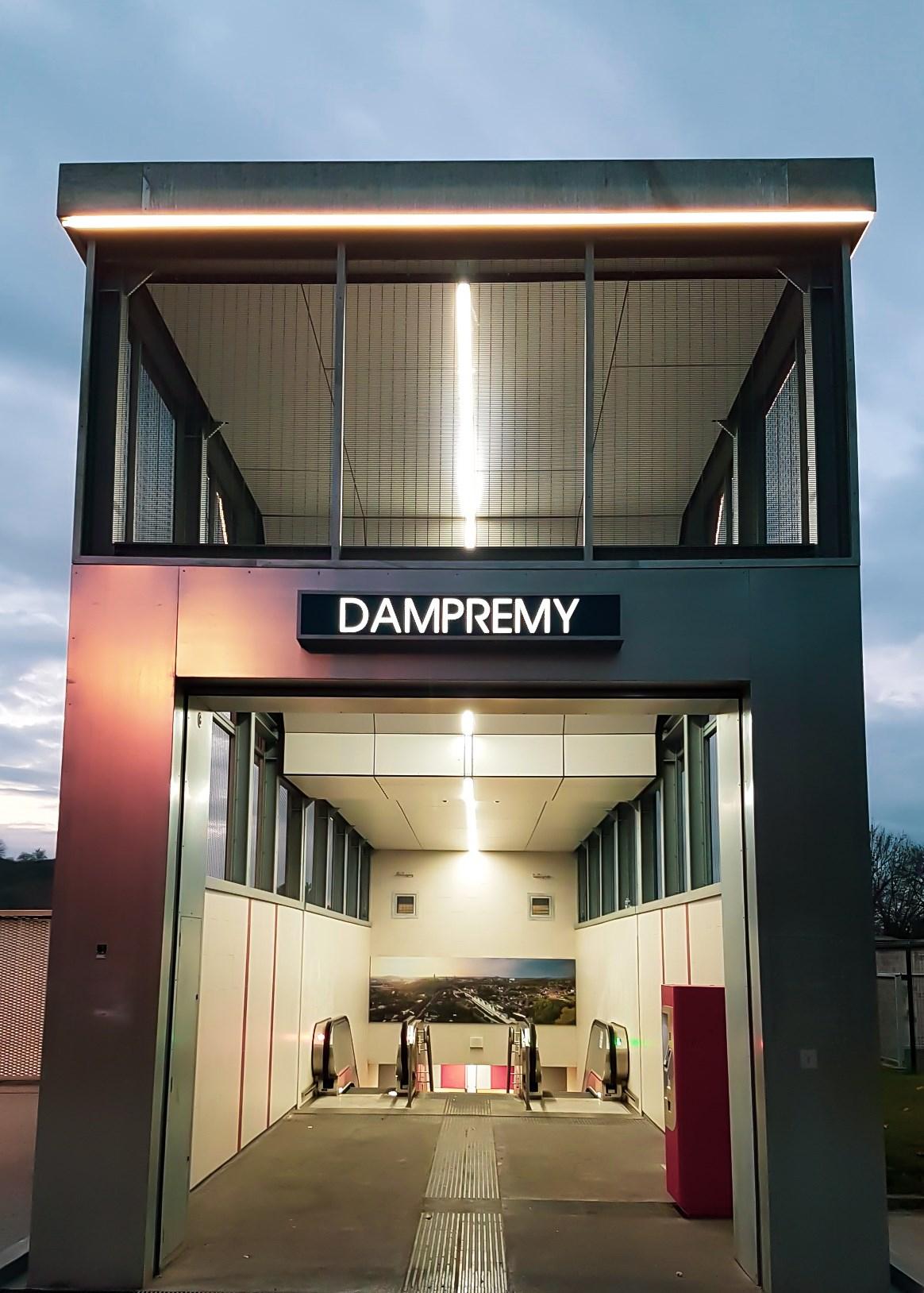 Dampremy (Charleroi Metro)